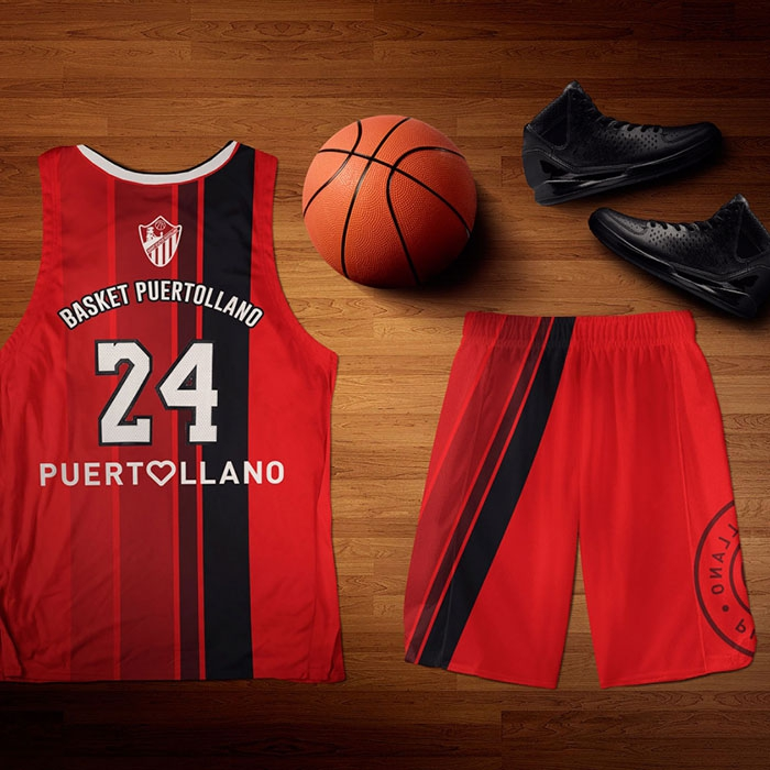Camiseta Basket Puertollano temporada 2017/18