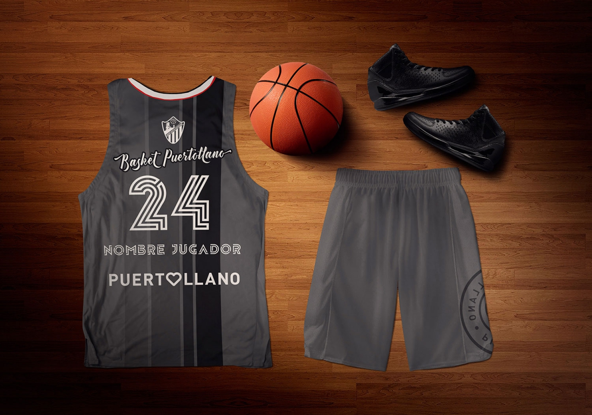 Camiseta Basket Puertollano temporada 2018/19