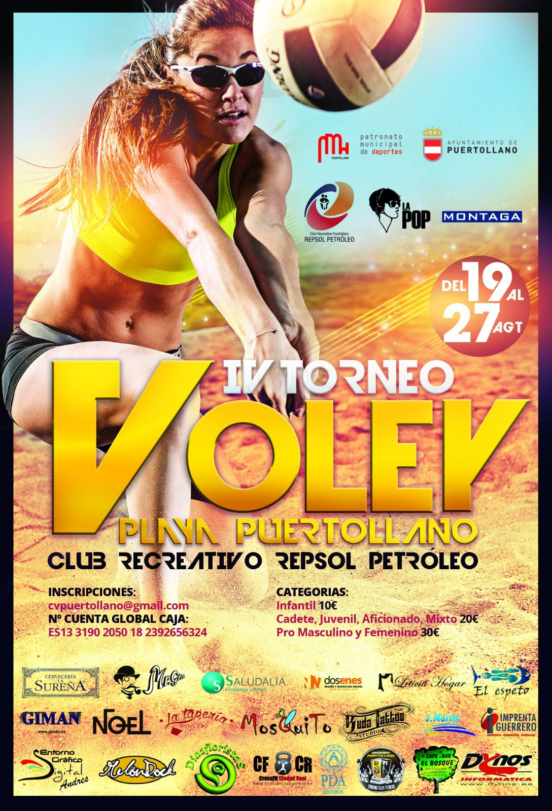 IV Torneo Voley Playa Puertollano