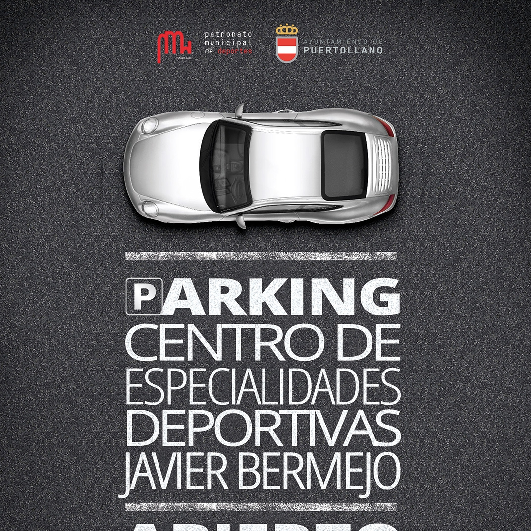 Cartel para el Parking de CDE Puertollano