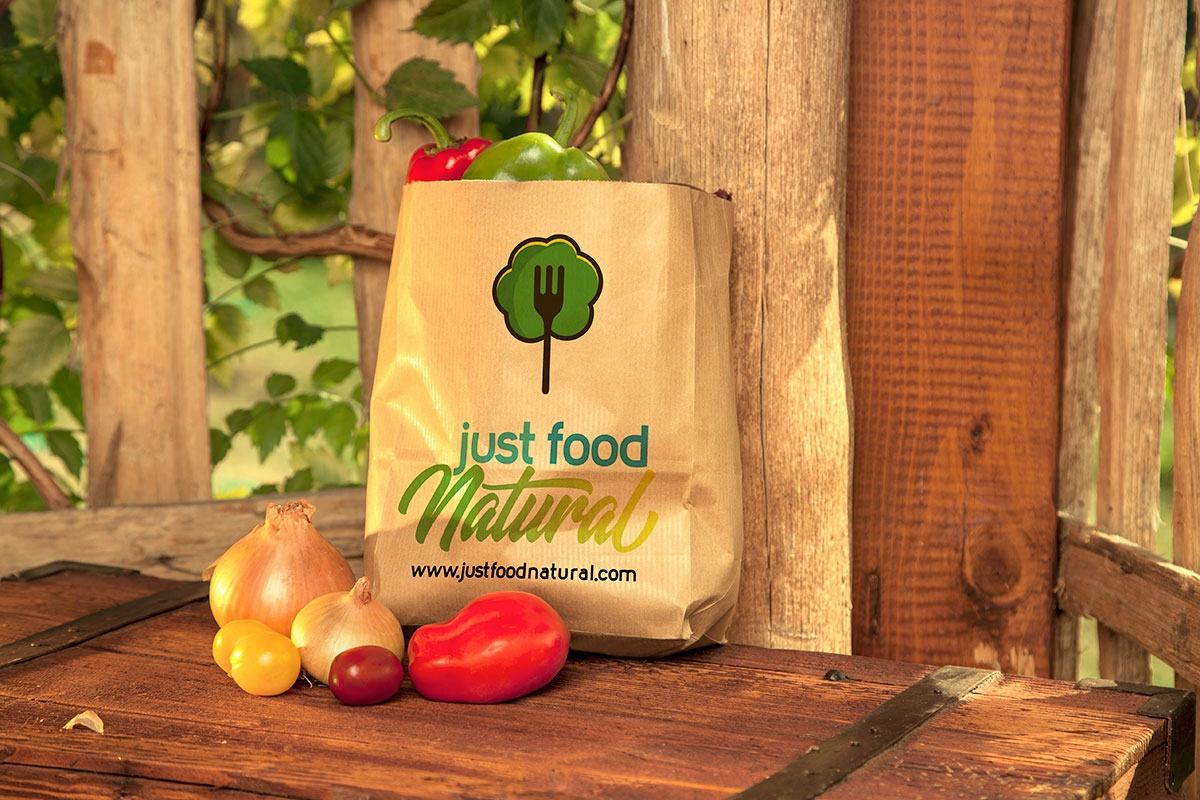 Logotipo Just Food Natural