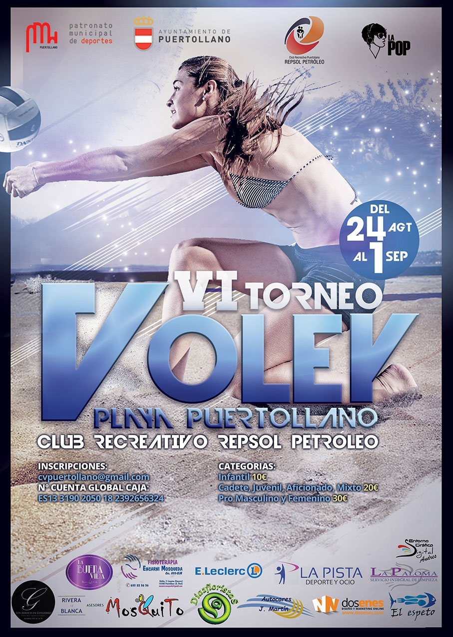 VI Torneo Voley Playa