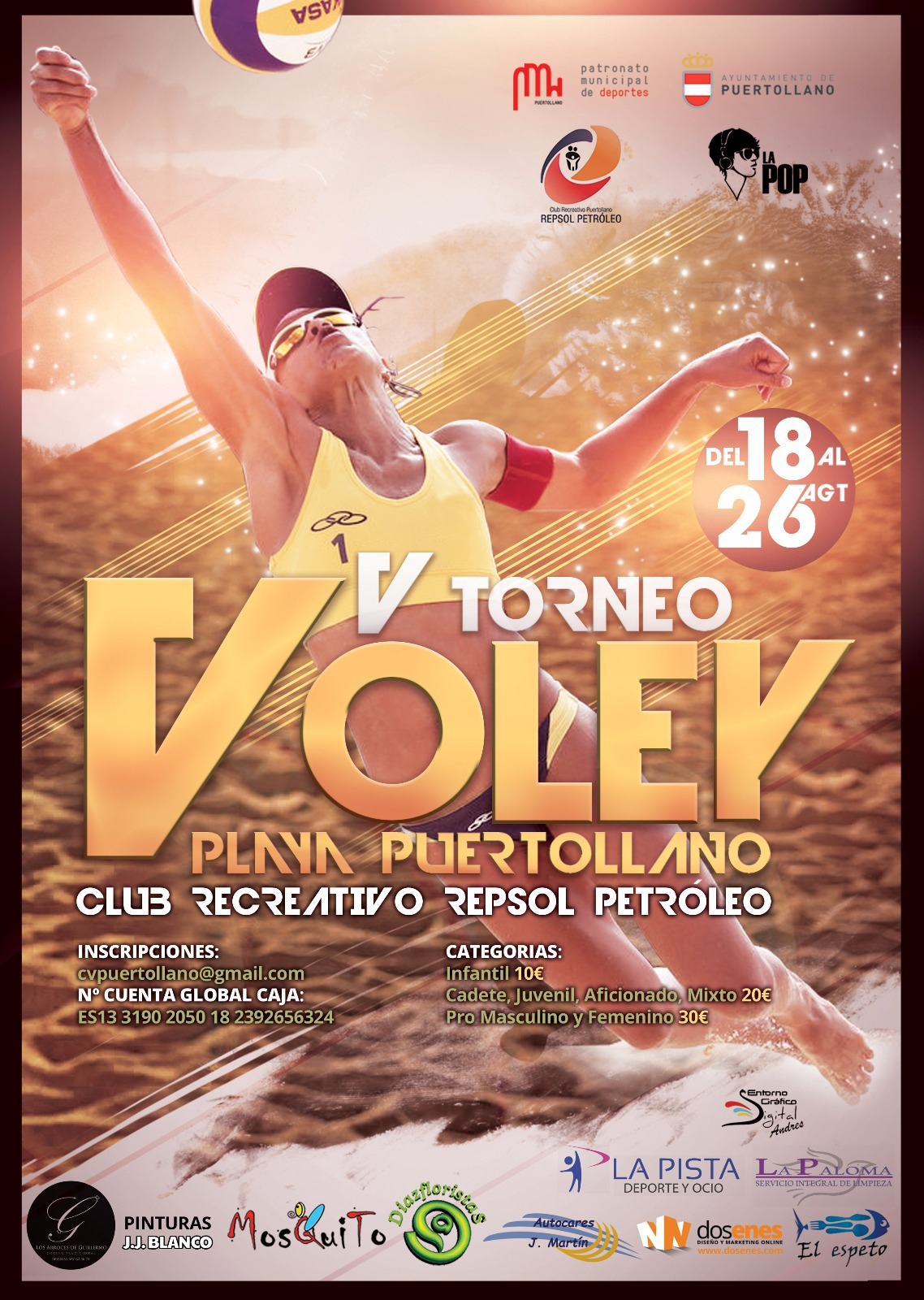 V Torneo Voley Playa Puertollano